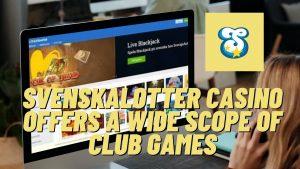 Svenskalotter Casino Site